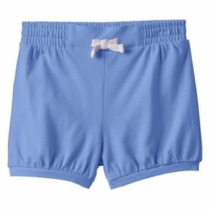Jumping Beans Solid Blue Bubble Shorts New
